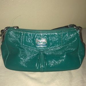 Coach genuine patent leather purse